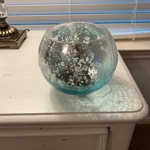 Mercury Glass Decorative  Vase